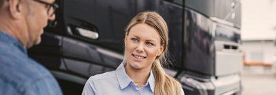 Finanzprodukte – Volvo Trucks Dienste