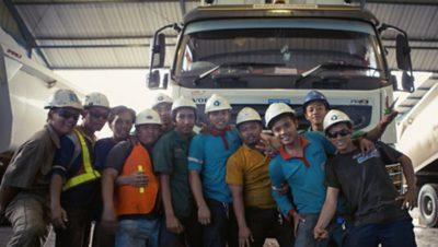 Volvo trucks global about us csr social responsibility