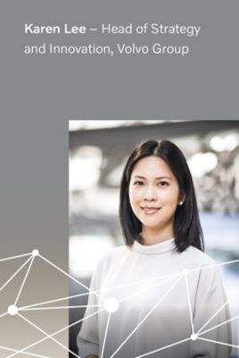 Karen Lee, Head of Strategy and Innovation at Volvo Group