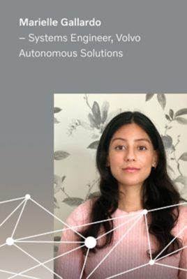 Marielle Gallardo, Systems Engineer at Volvo Autonomous Solutions