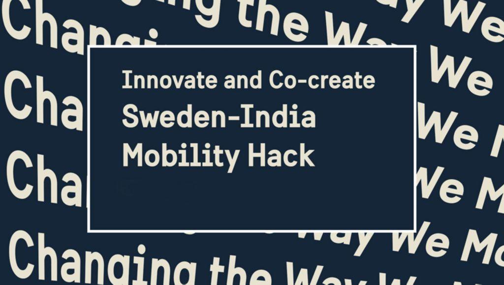 Sweden-India online Mobility Hack