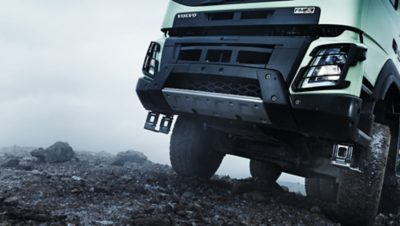 Volvo FMX the front construction