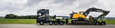 Volvo trucks dealer used truck selected excavator