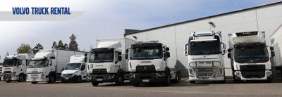 Volvo Truck Rental palvelee Volvo Truck Centereissä