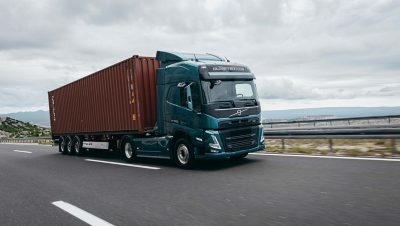 The Volvo FM LNG offers the same performance but with up to 20% lower CO2 emissions.