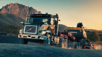 Volvo trucks global VNX quarry
