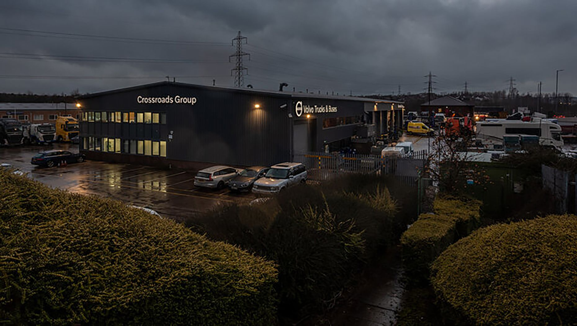 Our Rotherham Depot