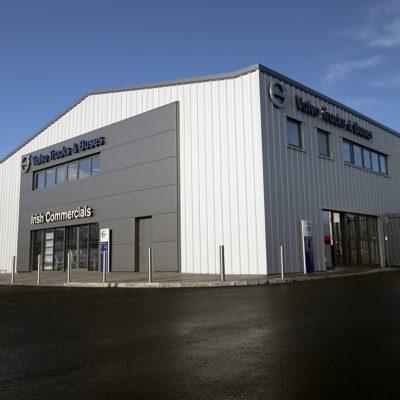 Irish Commercials - Santry depot