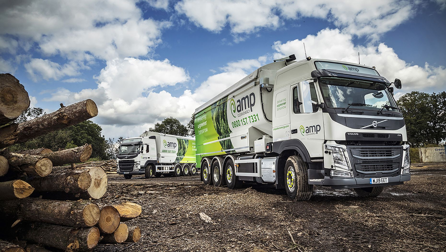 AMP Clean Energy prioritises safety and product quality with new technology on two Volvo trucks