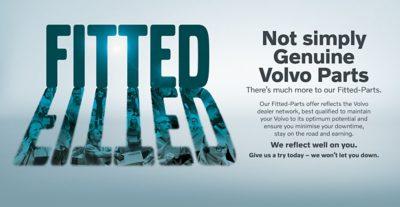 Volvo Trucks Upgrade to Genuine Volvo Parts