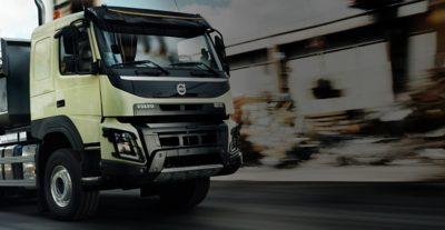 Volvo FMX uptime construction site