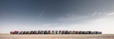 Volvo trucks used truck overview row