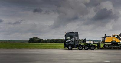 Volvo trucks used truck selected excavator