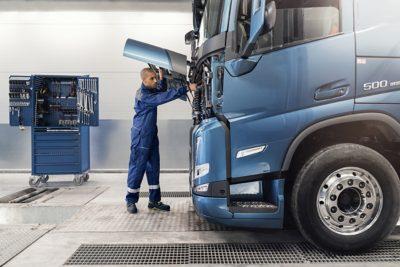 提高的出車率與保養良好的貨車