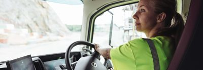 Volvo Dynamic Steering offers full control and stability, combined with less strain.