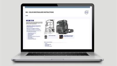 Instruções Volvo para construtores de superstruturas - ajudam a reduzir os prazos de entrega