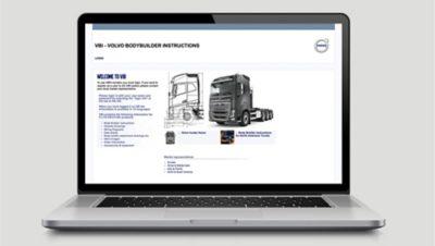 Las Volvo Bodybuilder Instructions (instrucciones de Volvo para carroceros) acortan los lazos de entrega