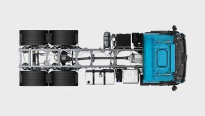 Volvo FE:n alusta – vaivatonta päällirakentamista