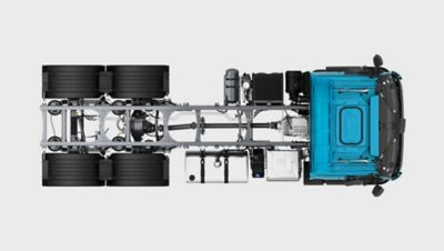 Шасси Volvo FE— простота установки кузова