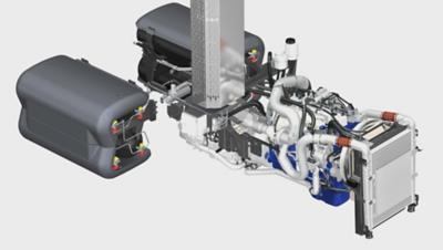 Euro 6 -moottori FE CNG -malliin