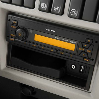 Volvo FE – Audiosystem