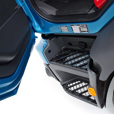 Интериор на Volvo FE – достъп