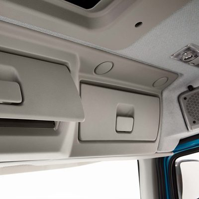Interieur Volvo FE opslag