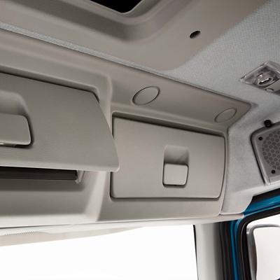 Rangement intérieur du Volvo FE