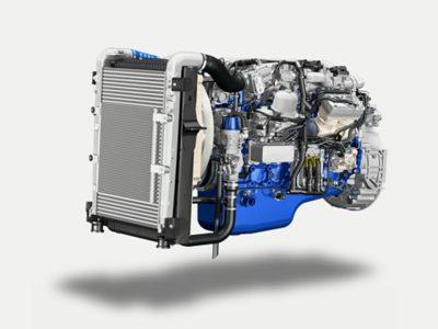 Volvo FE d8k engine studio