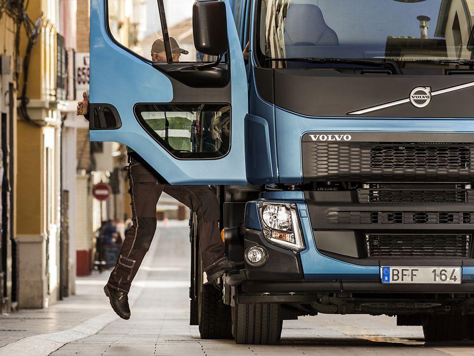 Volvo FE – Marchepied, Une marche en avant