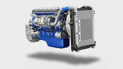 Volvo FE fuel efficiency engine studio