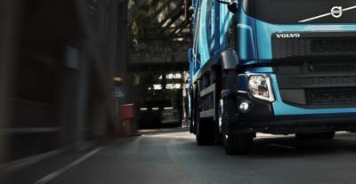 De senaste LED-lamporna på Volvo FE