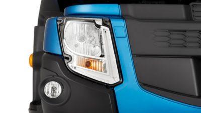 Volvo FE headlights studio