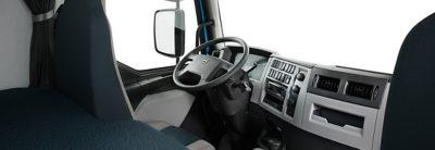 Volvo FE overview cabin studio