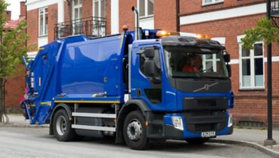 Volvo FE cng parked truck