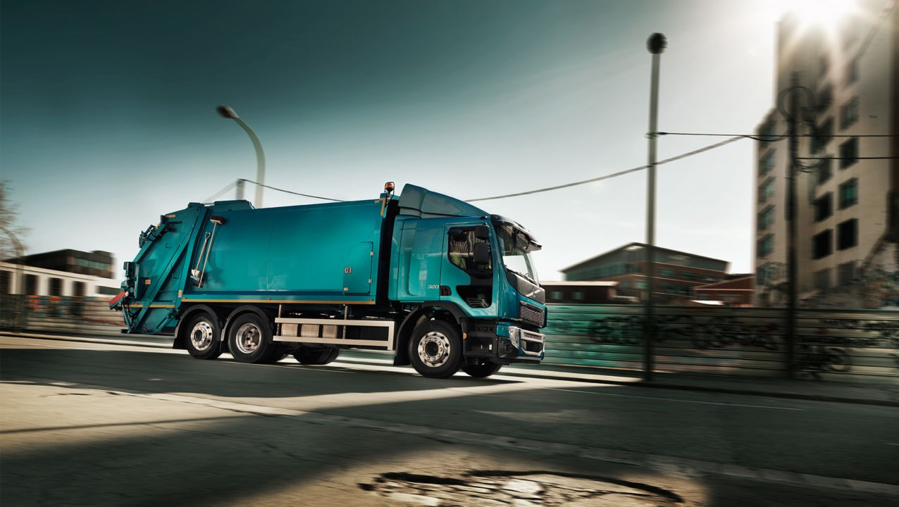 Volvo FE – Prises de force