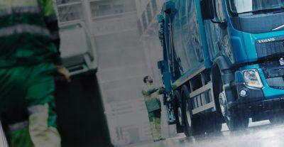 Volvo FE power take off garbagement truck