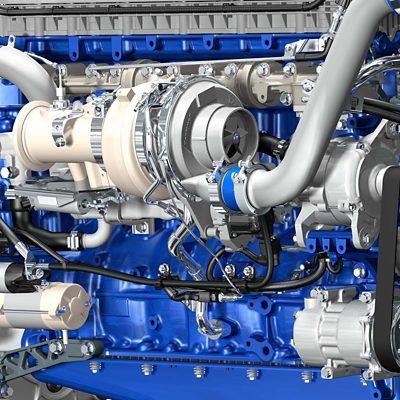 Turbocompresor con geometría de turbina variable