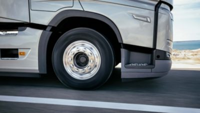 Keep your tyres and axles to save fuel.