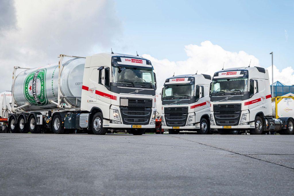Inter-Logistics voorbereid op de toekomst met Volvo FH LNG en I-Save