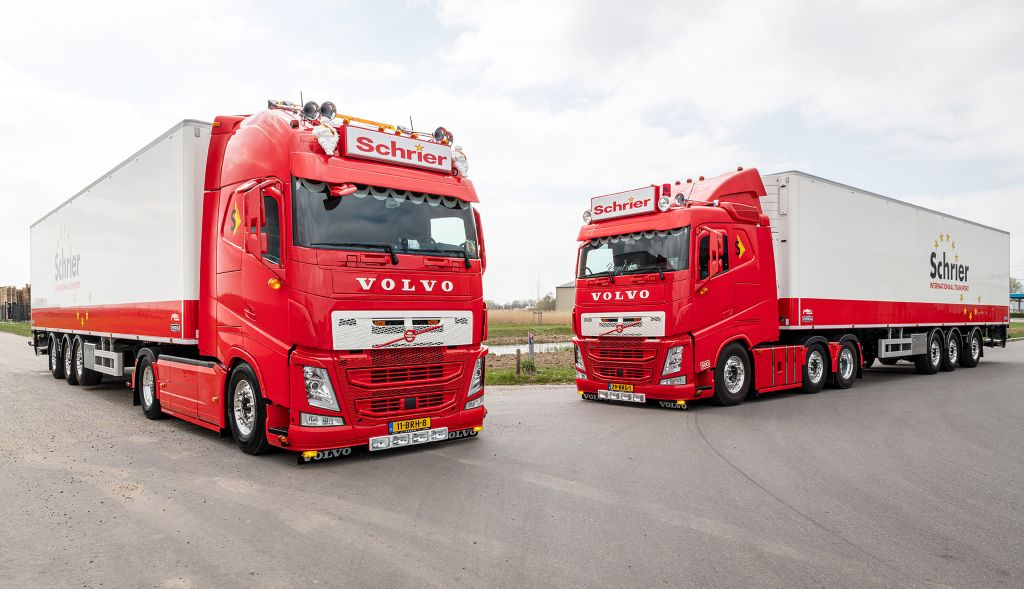 Schrier Int. Transport kiest met Volvo FH I-Save voor brandstofefficiency, comfort en uitstraling