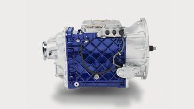 El módulo de cambios ultralentos solo suma 120 mm a la longitud de la transmisión I-Shift.