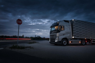The Volvo FH is a comfortable place for overnight stays on long haul assignments.