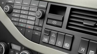 Panel de instrumentos del Volvo FH
