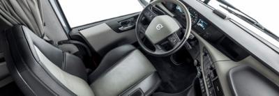 Volvo FH interior view