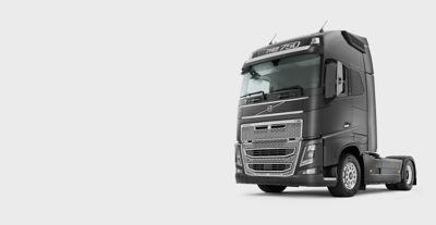Volvo FH viewed from the side