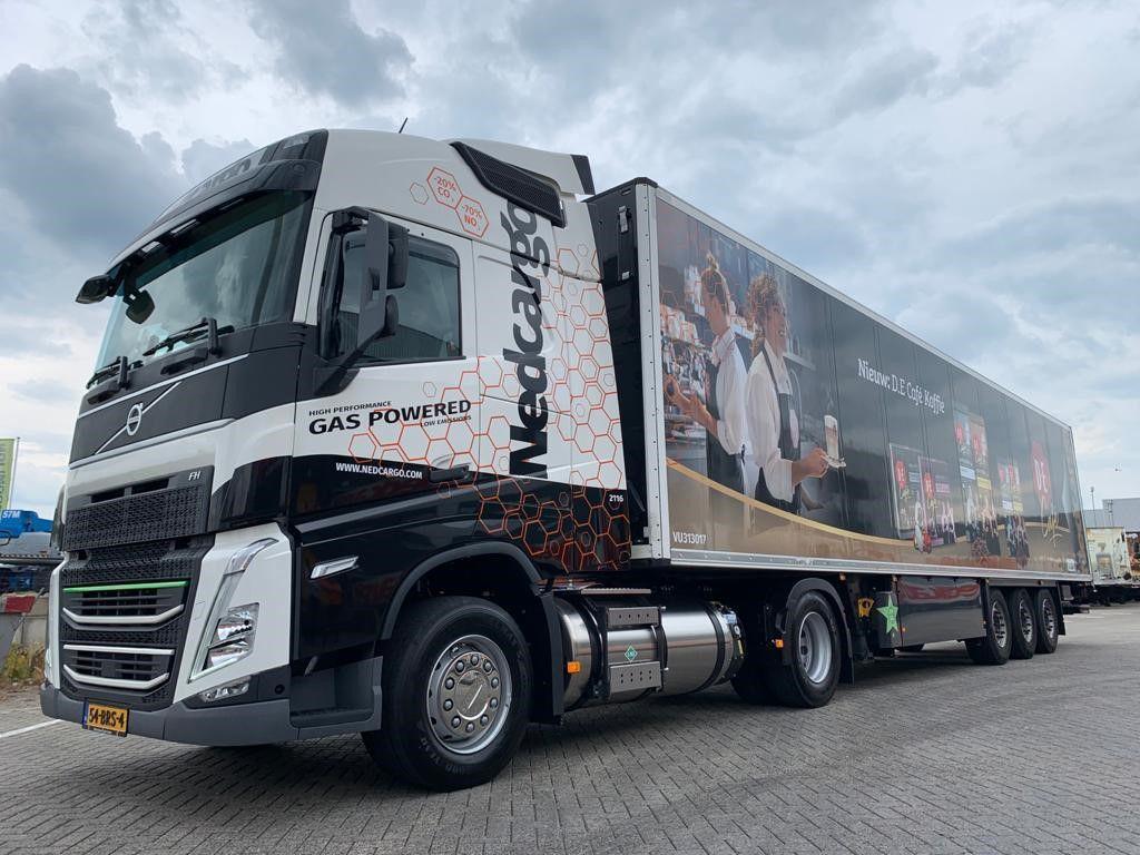 Nedcargo zet schonere Volvo LNG-truck in voor pendeldienst