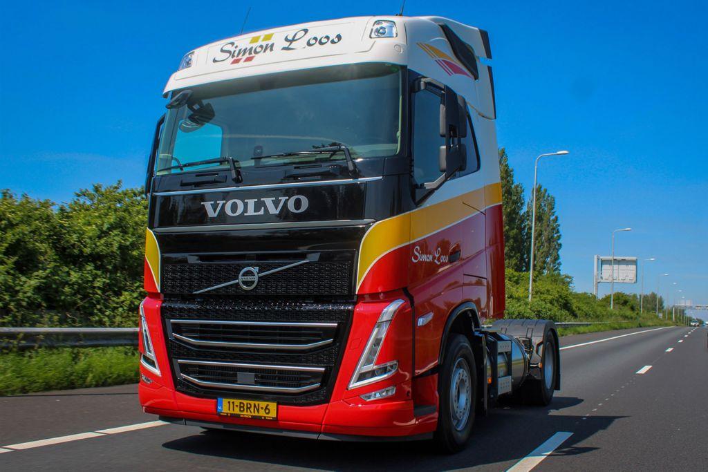 Simon Loos gaat voor CO2-reductie met Volvo-trekkers op LNG