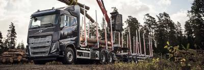 Volvo FH16's drivliner leverer en høj ydelse og et højt drejningsmoment til krævende opgaver.