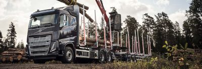The Volvo FH16 powertrains offer high output and torque for demanding operations.